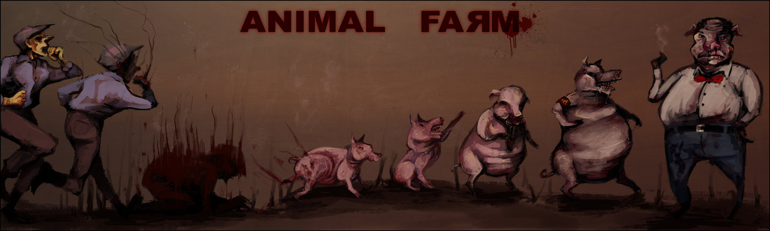 a comparison of george orwells animal farm and marxism and the 1917 russian revolution An essay or paper on a comparison between animalism and marxism animalism vs marxism characters, items, and events found in george orwells book, animal farm, can be compared to similar characters, items, and events found in marxism and the 1917 russian revolution.